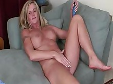 blonde bus busty hot milf toys whore