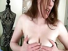 stocking milf masturbation juicy housewife horny fuck dildo wife
