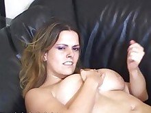 jerking hot cumshot boobs big-tits amateur sweet milf masturbation