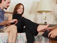 hot mature playing threesome anal big-tits boobs cumshot