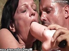 fuck hardcore horny mature milf outdoor toys