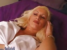 blonde big-tits striptease milf interracial hot dancing cumshot boobs