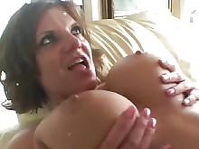 brunette boobs big-tits anal facials milf pleasure