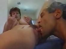 milf threesome amateur ass big-tits boobs big-cock fuck mature