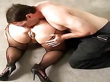stocking milf mature fuck ass anal
