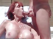 cumshot huge-cock milf sucking big-tits blowjob boobs bus busty
