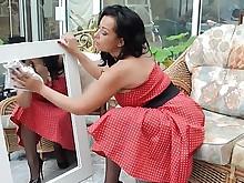 mature skirt vintage stocking upskirt amateur