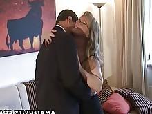 sucking wife amateur big-tits blowjob bus busty cumshot fuck