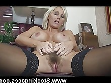 dolly boobs big-tits wife stocking pussy milf mammy housewife