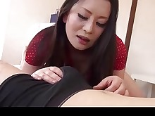 playing japanese mammy mature