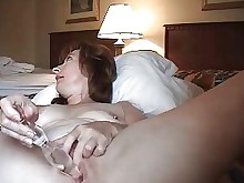 amateur anal horny masturbation mature wife