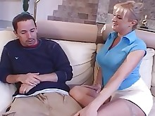 big-cock cumshot fuck hardcore high-heels hot housewife licking mammy