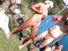 big-tits group-sex homemade milf nude oral orgy outdoor party