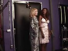 black ebony interracial lesbian mature