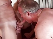 ladyboy mature threesome couple