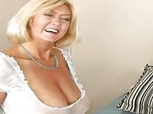 blowjob granny mature pussy blonde