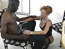 black bus big-cock ebony mature office