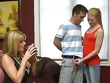 milf old-and-young pornstar really big-tits sucking blonde teen boyfriend