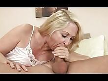 blonde cumshot granny mature