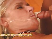 cumshot granny hot mature