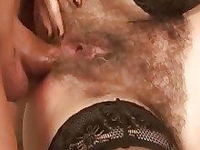 stocking sucking fuck hairy mature nylon