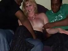 gang-bang hot interracial mature wife