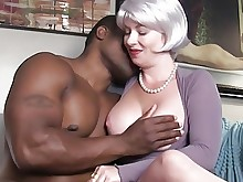 interracial juicy milf seduced big-tits black blowjob boobs handjob