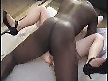 ebony mature prostitut wife amateur black big-cock creampie
