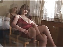 boobs erotic granny mature milf panties pussy skirt solo