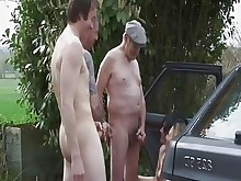 amateur angel car couple foursome kitty licking mature old-and-young