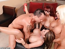orgy pornstar redhead slender threesome big-tits bus cougar dolly