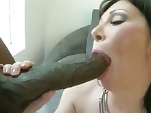 interracial mammy milf pornstar sucking black blowjob brunette big-cock