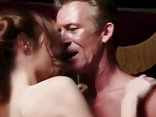 crazy facials fuck licking small-tits little old-and-young pussy rimming