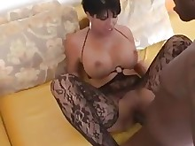 stocking big-tits black boobs big-cock fuck hot mammy milf