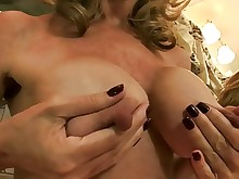 blonde masturbation mature nipples