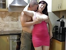 big-tits boobs big-cock cumshot bbw fatty hot huge-cock mammy