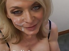 deepthroat solo glasses wife handjob hardcore high-heels hot housewife