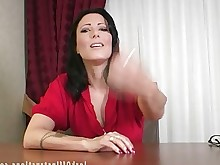 boss big-cock hot jerking masturbation milf