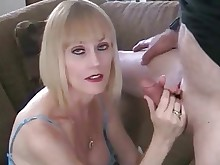 juicy creampie big-cock threesome milf