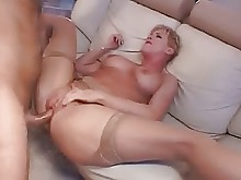 big-tits blonde boobs hardcore housewife mammy mature old-and-young stocking