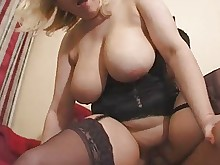 boobs fuck mature milf natural nylon stocking anal big-tits
