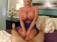 old-and-young milf hd handjob busty bus boobs big-tits pov