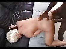 blonde big-cock interracial milf whore amateur