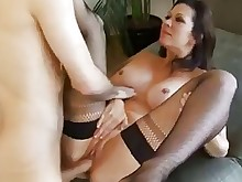 oral ride wife big-tits boobs brunette bus busty big-cock