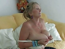 stocking funny big-tits boobs fingering fuck granny masturbation mature