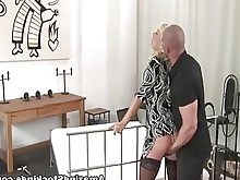 black blonde crazy hardcore hot milf stocking