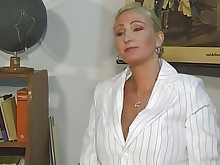 big-tits blonde fuck innocent mature old-and-young pussy shaved teacher