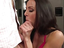 boobs brunette cumshot hd hot mammy milf pornstar big-tits