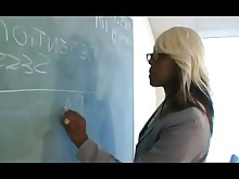 rimming schoolgirl ass teacher black teen classroom big-cock ebony