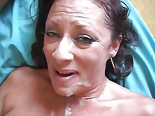 big-tits brunette cumshot facials fuck granny hardcore hot housewife